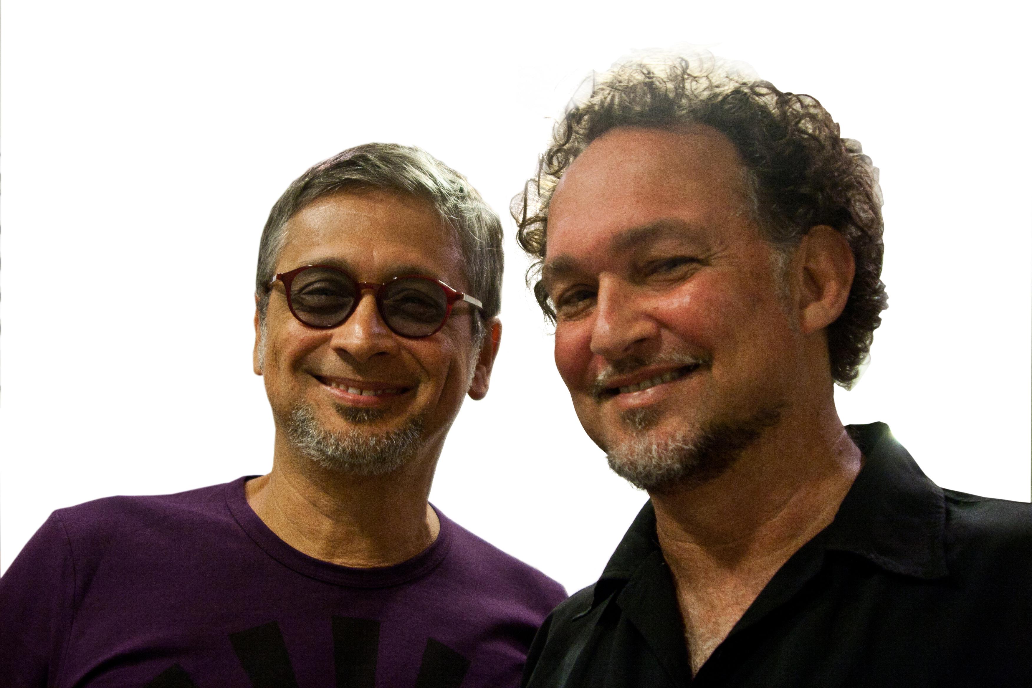 With Zé Renato