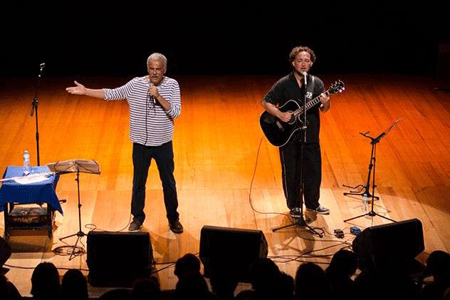 Danilo Caymmi and Claudio Nucci