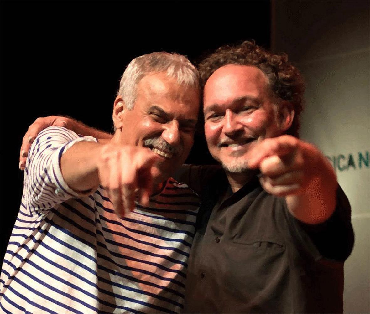 With Danilo Caymmi