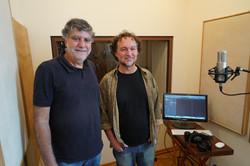 Com o parceiro Felipe Cerquize