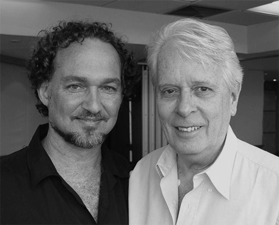With Luiz Fernando Gonçalves