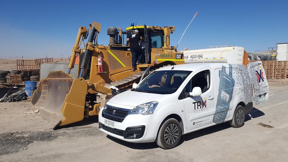 Instalaciones en terreno TRX Telecom