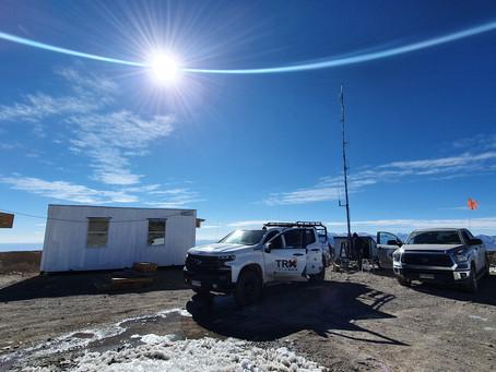 Empresa loína realiza reparaciones y mantenimiento en el observatorio más alto del mundo