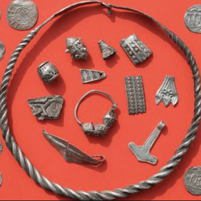 Finding a medieval treasure