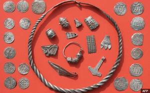 Harald Bluetooth treasure - image by Christian Sauer/AFP
