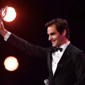Laureus award for tennis star
