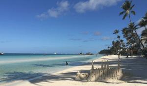 Boracay beach - image by Girlie Linao/dpa