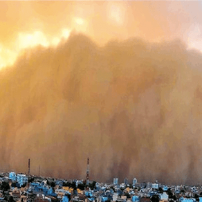 India hit by massive sand storms