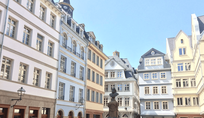 Frankfurt new old town - image by Joel Graff