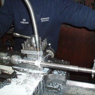 Reparación integral de equipos de bombeo