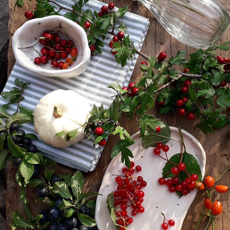 Wildfrüchte und Beeren