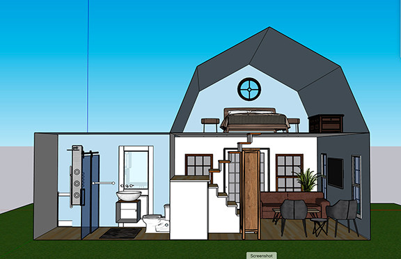 Tiny House B Design 2