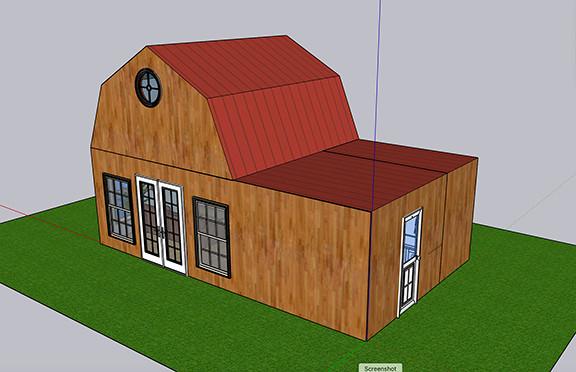 Tiny House B Design 1