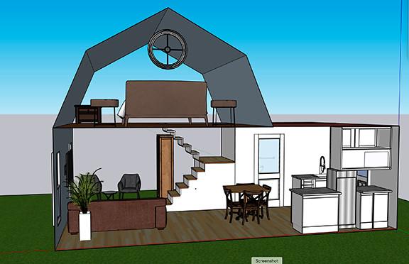 Tiny House B Design 3