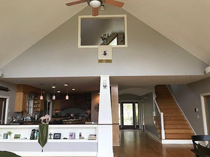 Living Room Loft Above