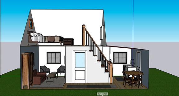Tiny House A Design 3