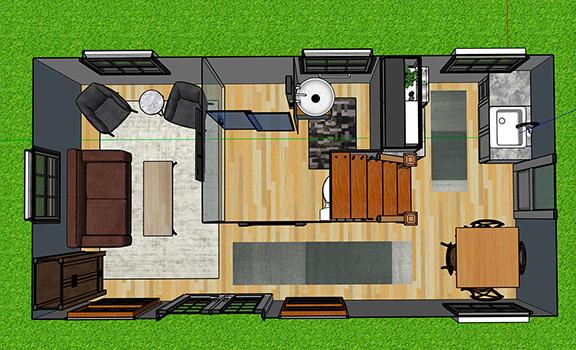 Tiny House A Design 6