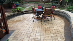 Patio and Seat Wall Designs
