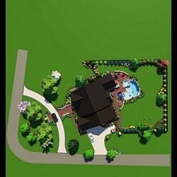 Outdoor Living Landscape 3D Designs