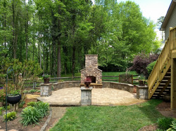 Outdoor Living Fire Feature Designs