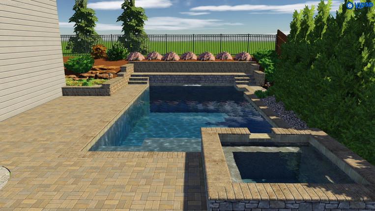 3D Pool Design Photo's