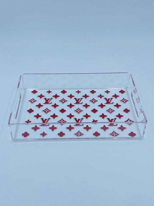 LV Acrylic Tray