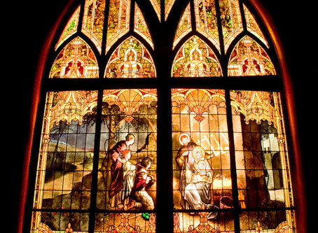 Emmanuel Episcopal to remove 111-year old Nativity window for restoration