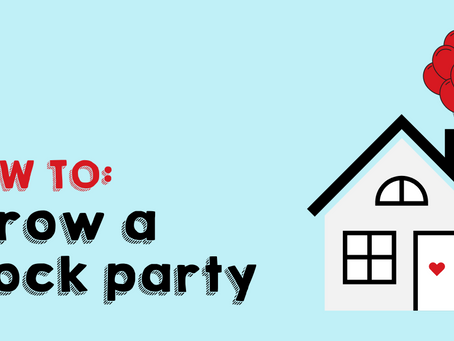 How to Throw a Block Party Step-by-Step
