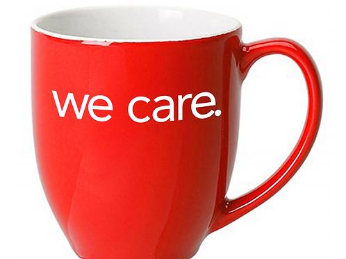We Care. Ceramic Mug