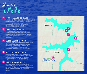 All You Need to Know about Shawnee Twin Lakes