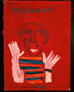 A Painting of Picasso. 2016