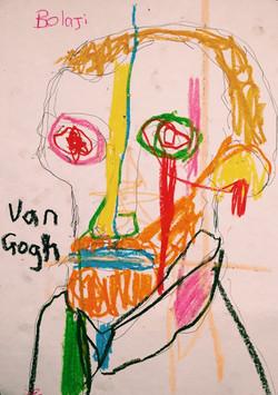 Tribute to Van Gogh. 2016