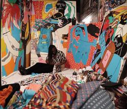 Bolaji- old studio.