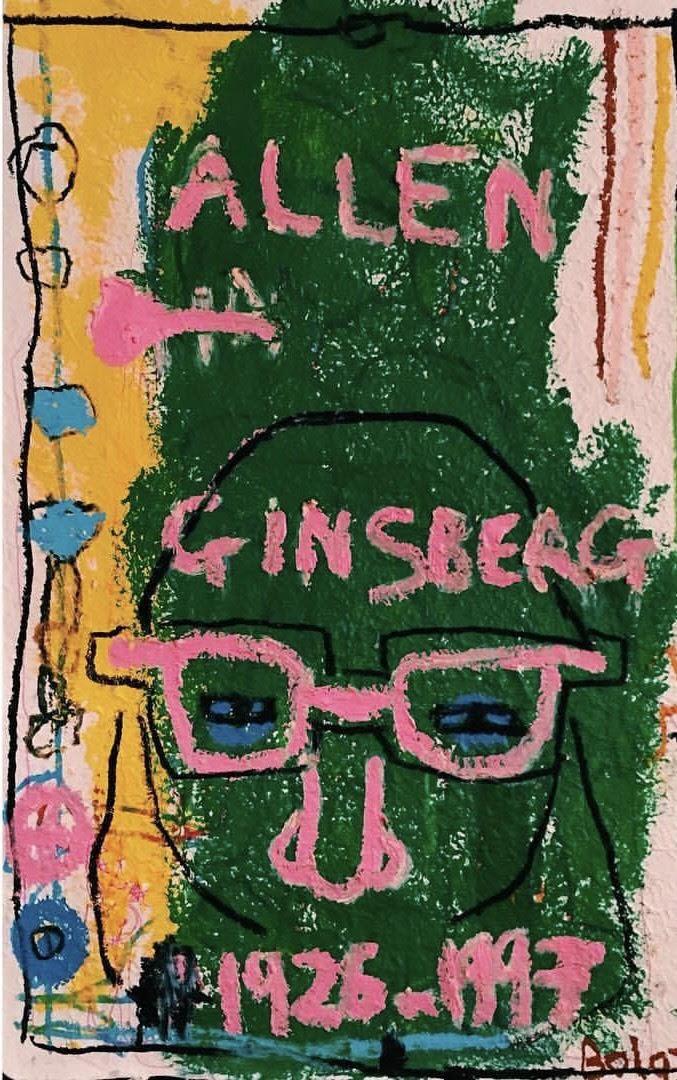 Allen Ginsberg. 2016