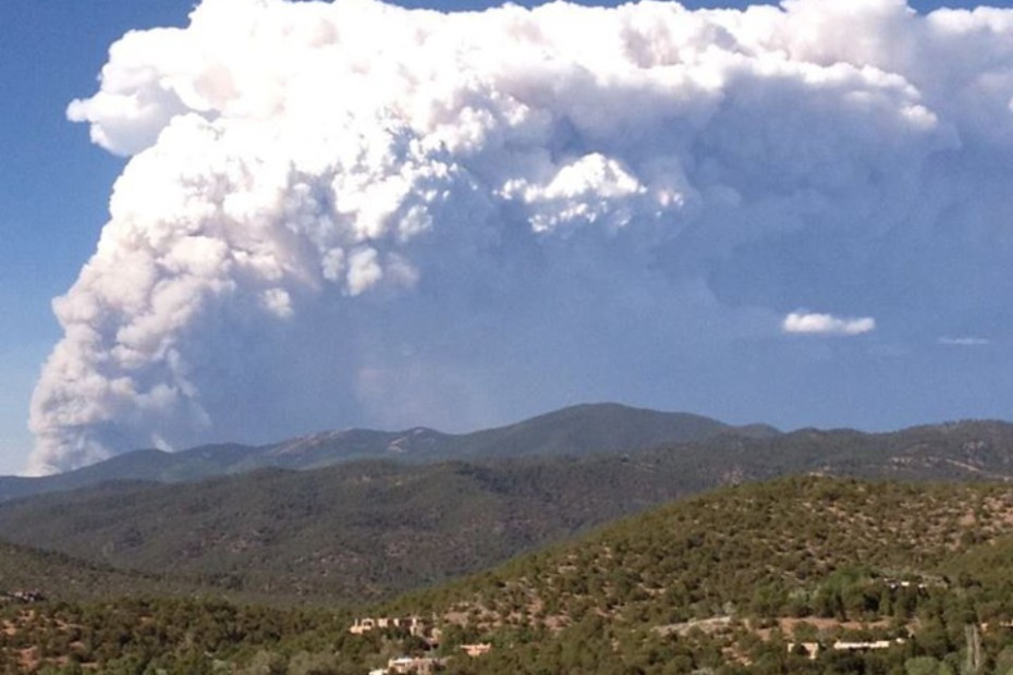 Our smoke cloud