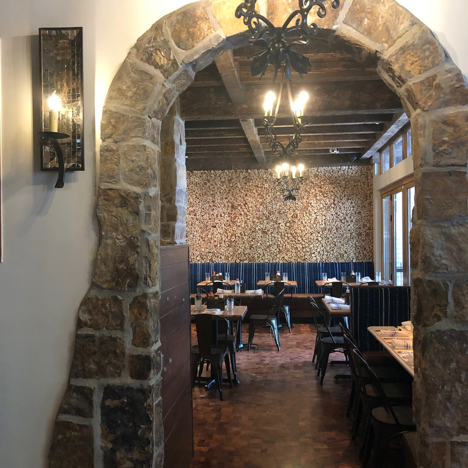 Tatanka Bistro and Bar, Aspen CO, End Grain Flooring
