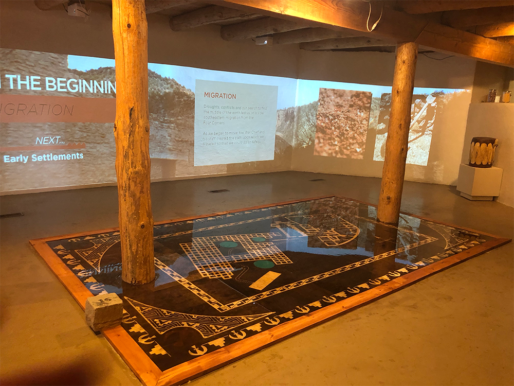 Floor by Old Wood LLC. for Jemez Historic Site