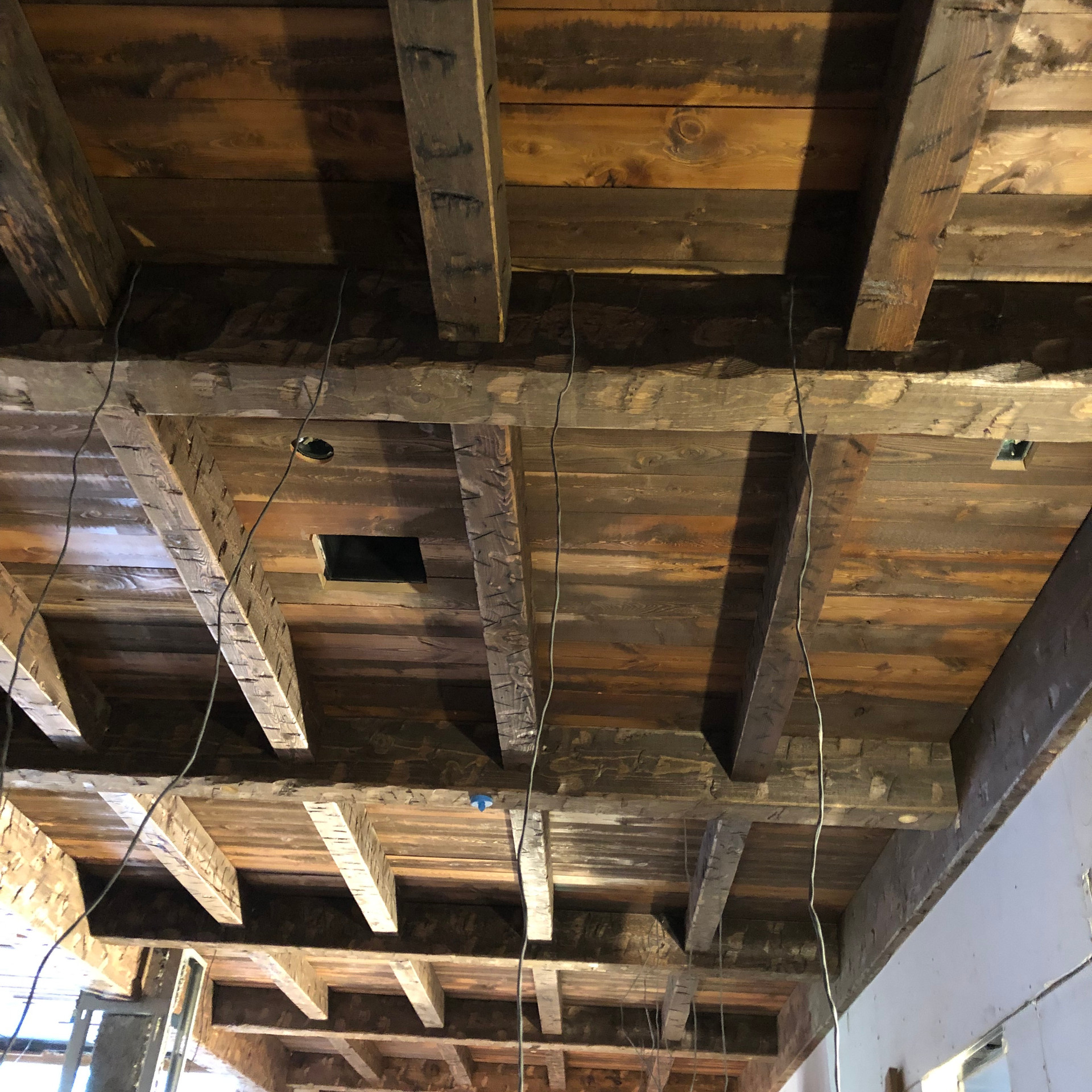 Custom Ceiling and Beam Package