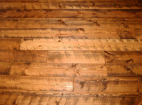 Circle Sawn Douglas Fir Flooring