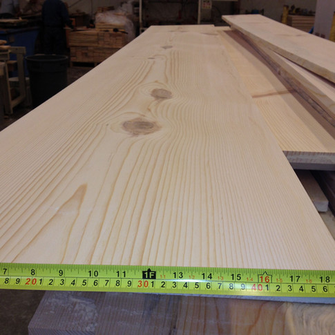 Ultra Wide Plank Pine Flooring