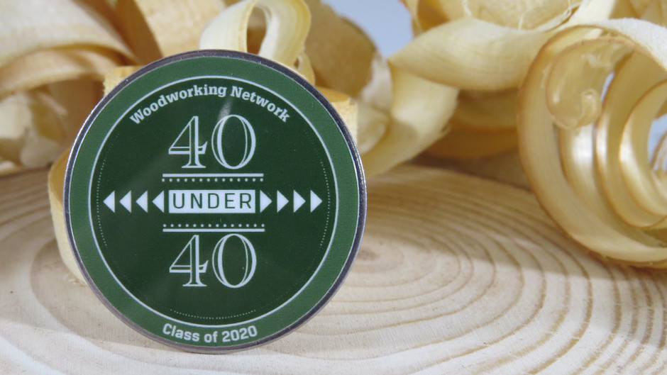 Mika Old and Shiloh Old, of Old Wood, LLC. have been honored as 40 Under 40 class of 2020.