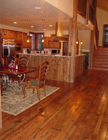 Douglas Fir Flooring, Summit County Finish