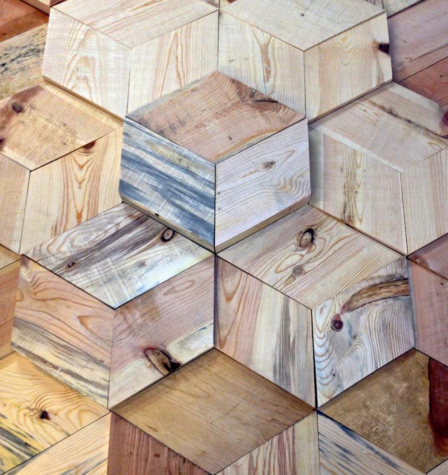 Escher 3D Wall