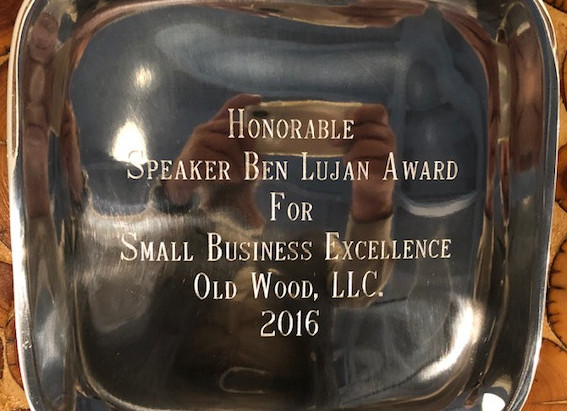 Old Wood LLC. awarded Small Business Excellence