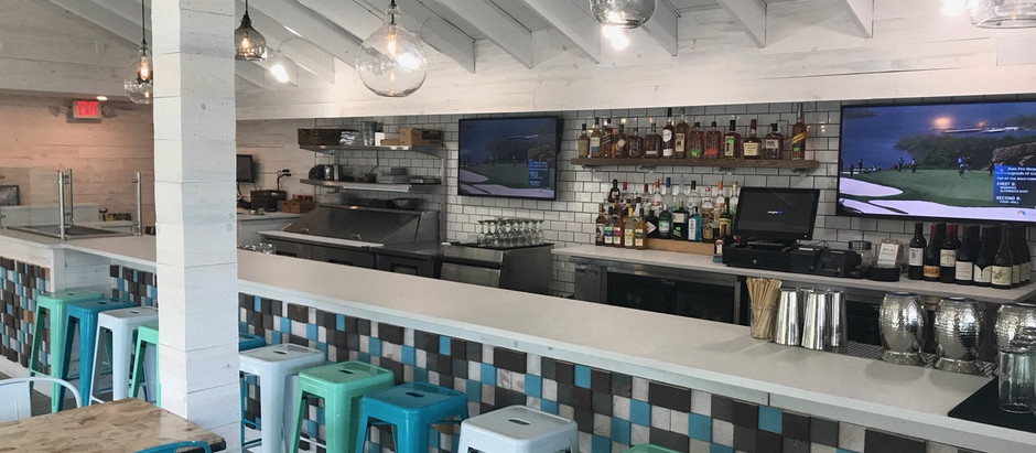 Shark Bar and Kitchen, located in coastal Wrightsville Beach, NC
