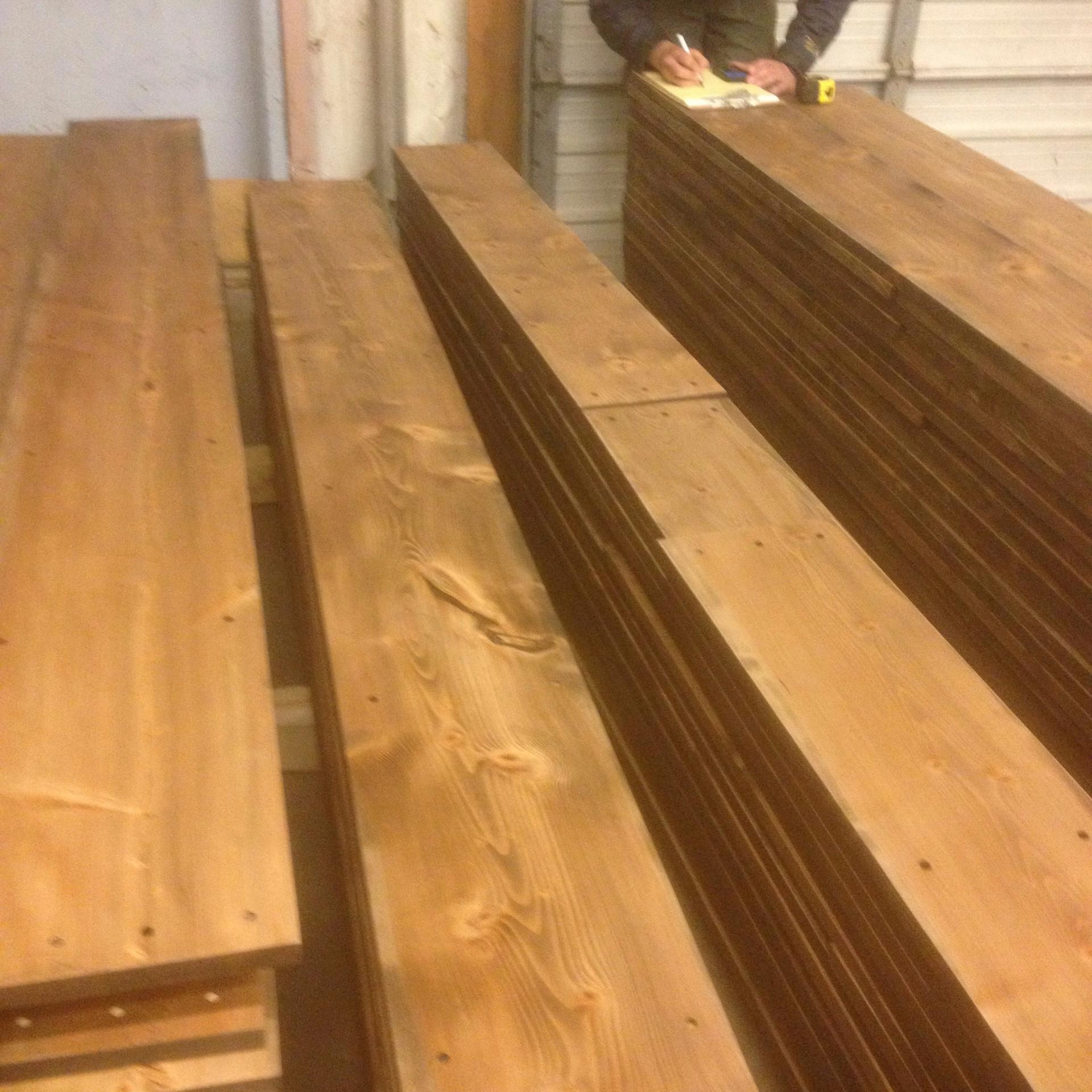 Very Wide Plank Douglas Fir Flooring