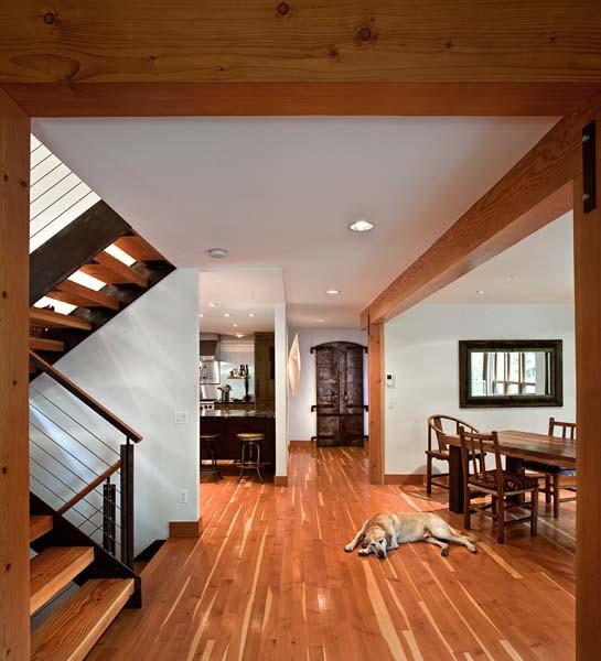 Douglas Fir Flooring, Natural Stain