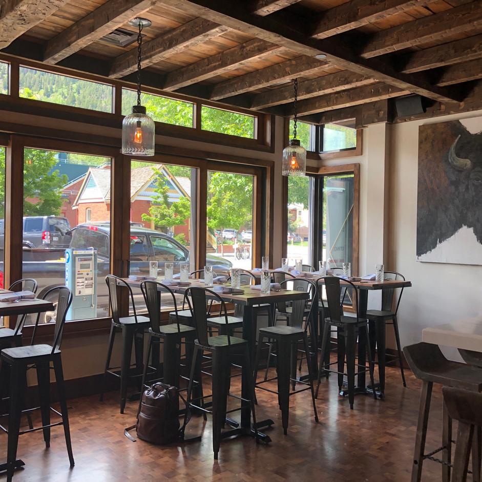 Tatanka Bistro and Bar, Aspen CO