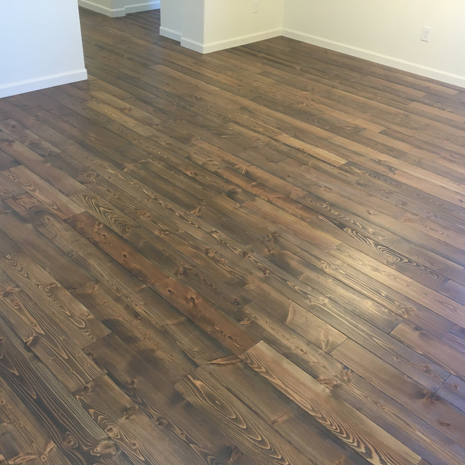 Douglas Fir, Wirebrushed with OW Viejo Stain