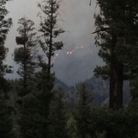 Tres Lagunas Fire